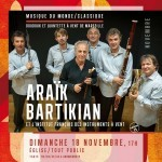 Concert exceptionnel de Doudouk et quintette  vent ce 18 novembre 2012  Marseille