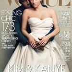 Kim (Kardashian) fait la une ( de Vogue USA)