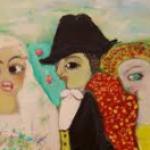 En marge du Festival rencontre à Cannes d'une artiste-peintre aux oeuvres naïves et poétiques : Corinne Mazuir expose jusqu'à fin juin à l'Hôtel Ariane à Istres