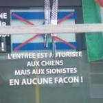 Un cafe turc de Belgique affiche un texte raciste