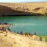 Un lac se forme de facon naturelle et comme par enchantement
