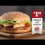 Burger King devient le 3e acteur du fast food et demenage…au Canada