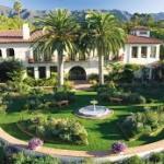 J'ai déjeuné à Santa Barbara au Biltmore