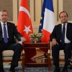 A Paris le président Erdogan la joue fine