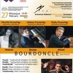 Un concert exceptionnel à l'Opéra d'Erevan !