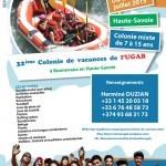 32ème Colonie de vacances de l'UGAB à BONNEVAUX en Haute-Savoie en exclusivité avec le soutien de NHM (NouvelHay Magazine)