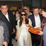 Kim Kardashian est à Erevan, capitale de l'Arménie