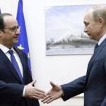 Lors de leur rencontre le 24 avril en Arménie, pour le 100e anniversaire du génocide des Arméniens, François Hollande et Vladimir Poutine vont évoquer l'Ukraine
