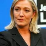 Le président de la Douma, le parlement de Russie reçoit Marine Le Pen