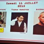 Jazz à Juan avec Tigran (Dikran) Hamasyan samedi 11 Juillet 2015