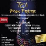 Aux Folies Bergère spectacle exceptionnel hommage aux victimes de la Shoah & du Génocide des Arméniens, lundi 12 Octobre 2015