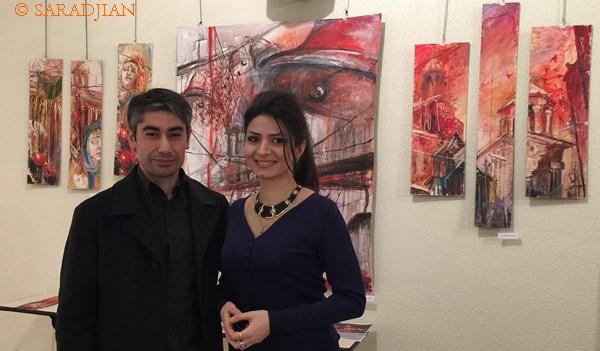 Jean-Jacques Saradjian et Amalie Galstyan