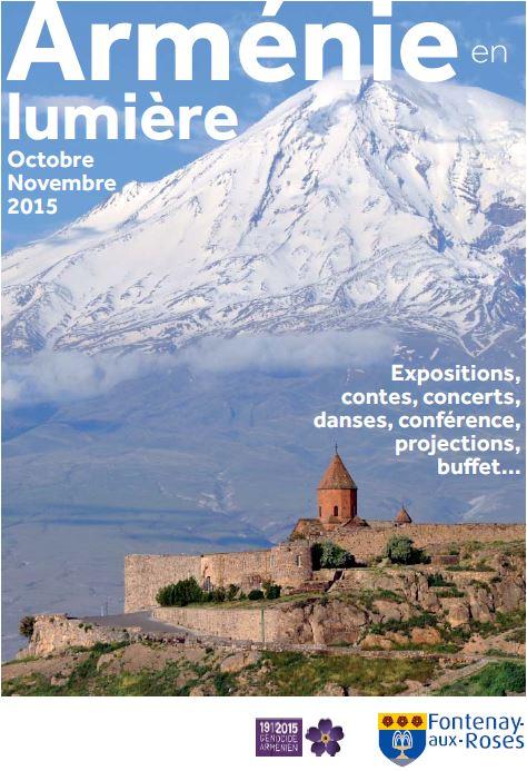 Arménie en lumière en octobre et novembre 2015