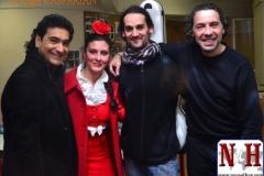 Festival flamenco avec Lori La Armenia pour la feria de Ménilmontant