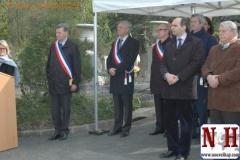 Inauguration de l'ossuaire de Chaville ce samedi 14 avril 2012